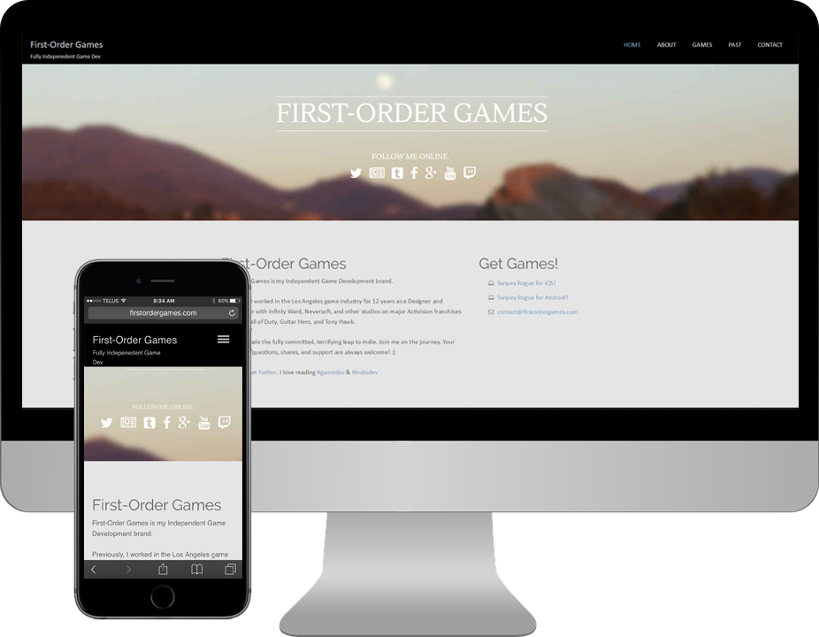 First Order Games